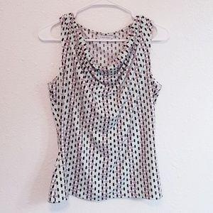 🍂Calvin Klein Cowl Neck Shirt